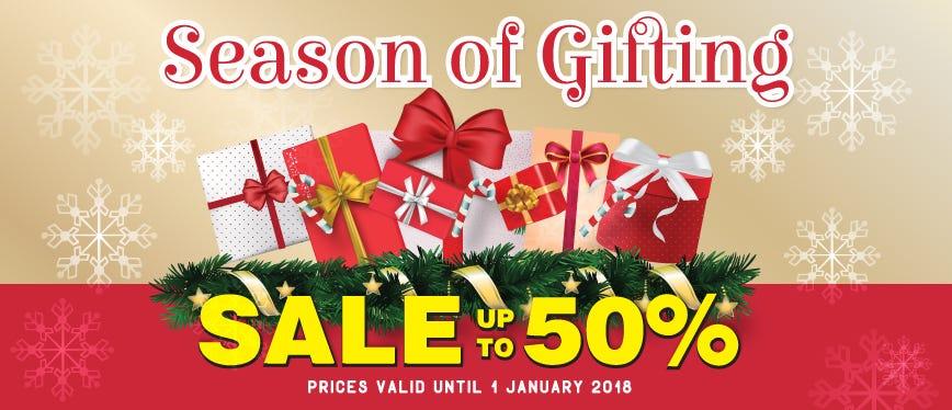 Season Of Gift Christmas Sale!