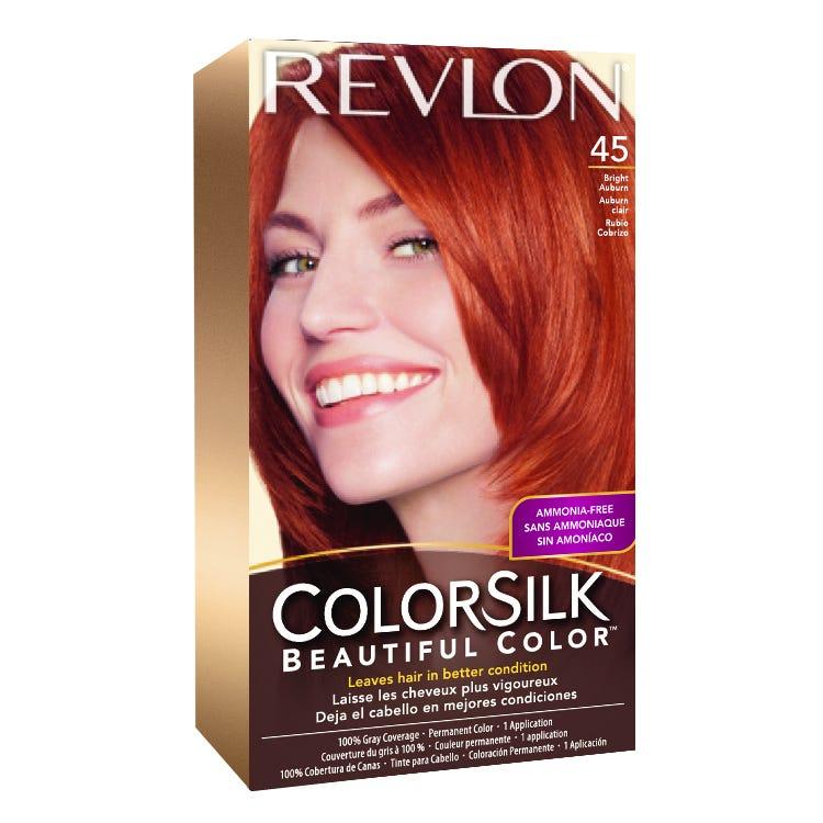 68be8fa4a64 Revlon ColorSilk™ Hair Color 45 Bright Auburn