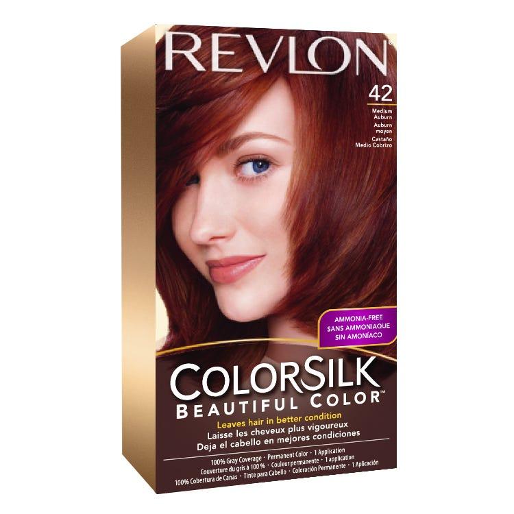 Revlon Colorsilk Hair Color 42 Medium Auburn Hair Color Hair Care