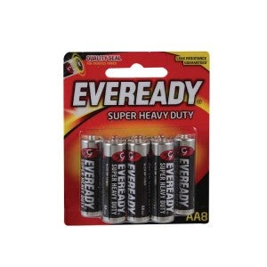 Eveready SHD AA 1215BP8 8s