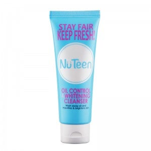Nuteen Oil Control & Whitening Cleanser 100g