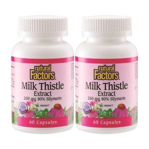 Natural Factor Milk Thistle 60's Pack Of 2