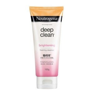 Neutrogena Deep Clean Brightening Foaming Cleanser 100g
