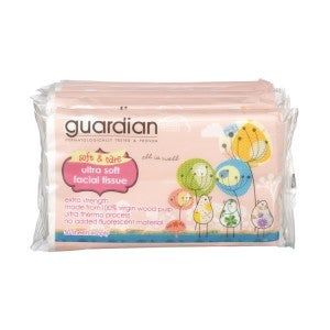 Guardian Ultra Soft Facial Tissue 6x50's