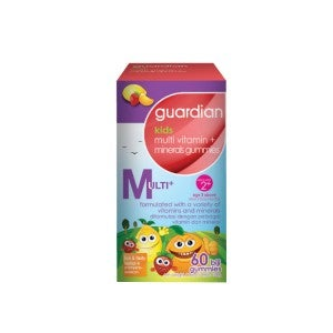 Guardian Multivitamin + Minerals Kids Gummies 60's