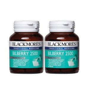 Blackmores Bilberry 2500mg 60's Pack-of-2