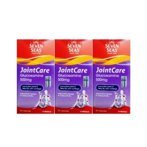 Seven Seas Jointcare Glucosamine 60's Pack of 3