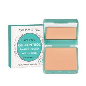 Silkygirl Pure Fresh Oil-Control Pressed Powder 02