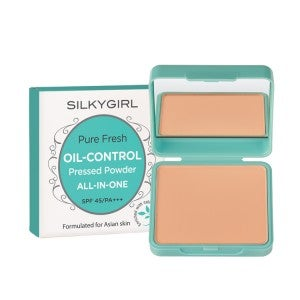 Silkygirl Pure Fresh Oil-Control Pressed Powder 03