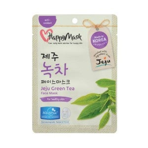 Happy Mask Jeju Green Tea Face Mask 1's