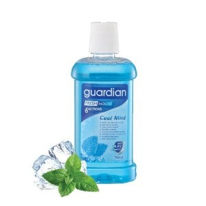 Guardian Fresh Mouth 6 Actions Cool Mint Mouthwash 750ml