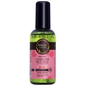 Botaneco Garden Camellia & Rice Oils Hair Oil 95ml Damage Repair