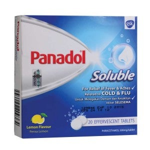 Panadol Soluble 20 Tablets