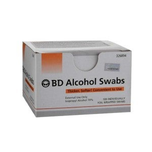 Becton Dickinson Alcohol Swabs 100s