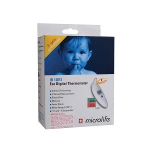 Microlife Digital Infrared Ear Thermometer 1DB1