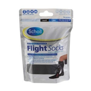Scholl Flight Socks Size 3-6