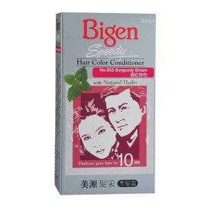 Bigen Speedy Hair Color Conditioner 855 Burgundy Brown