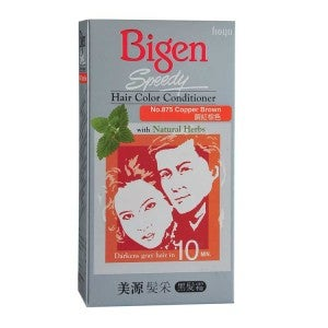 Bigen Speedy Hair Color Conditioner 875 Copper Brown