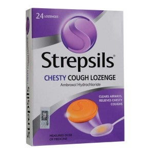 Strepsils Chesty Cough 24s