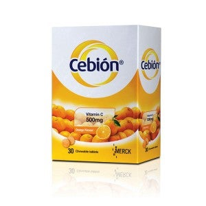 Cebion Chewable C 500mg 30s
