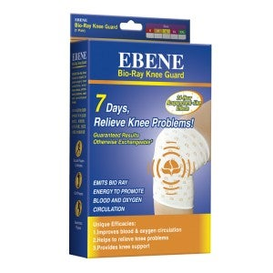 Ebene Bio-Ray Knee Guard M 1 pair (36.8-43.2)