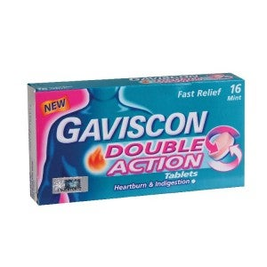**Gaviscon Double Action Tablet 250mg 16s