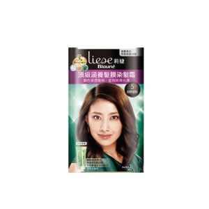 Liese Blaune Treatment Cream Hair Color KT5- Med Brown