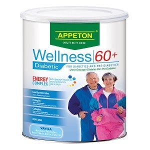 Appeton Wellness 60+ Diabetic 900g