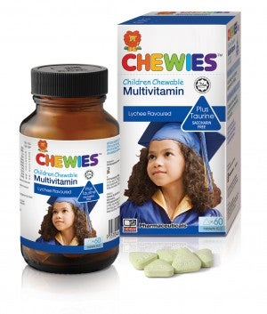 Chewies Multivitamin PLUS Taurine 60's
