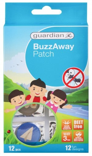 Guardian BuzzAway Patch 12's