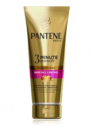 Pantene  Hair Fall Control 3 Minute Miracle Conditioner 180ml