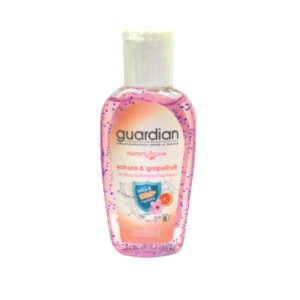 Guardian Protect  Clean Sakura & Grapefruit Antibacterial Hand Sanitiser 50ml