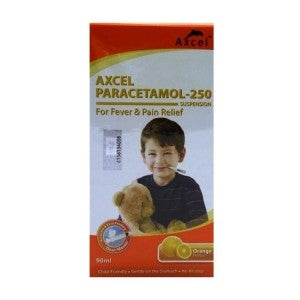 Axcel Paracetamol 250 Suspension 90ml