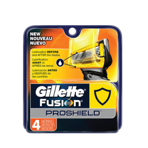 Gillette Fusion Proshield Catridge 4's