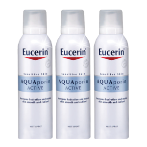 Eucerin AQUAporin Active Mist Pack Of 3