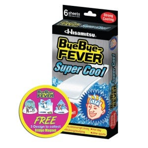 Bye-Bye Fever Super Cool 6's + Free Gift