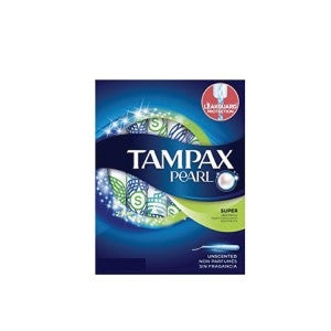 Tampax Pearl Plaster Super Absorbency Unscented 8's