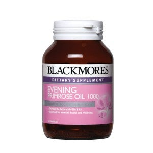 **Blackmores Evening Primrose Oil 1000mg 60 Capsule