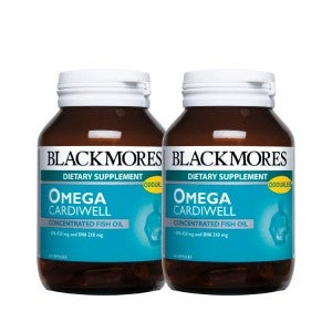 Blackmores Omega Cardiwell 60 Capsules Pack-Of-2