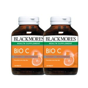 **Blackmores Bio C 1000mg 120 tablets  Pack-of-2