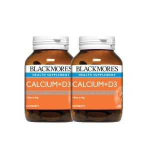 Blackmores Calcium +D3 120's Pack Of 2