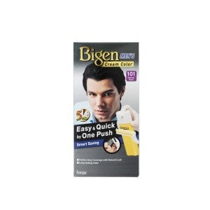 Bigen Men Cream Color 101 Natural Black
