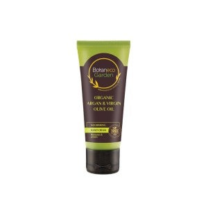 Botaneco Garden Organic Argan & Virgin Olive Oil - Nourishing Hand Cream 60g