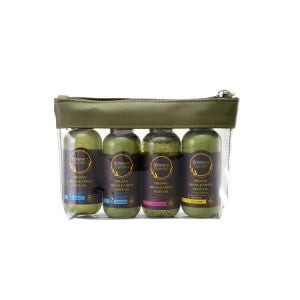 Botaneco Garden Organic Argan & Virgin Olive Oil - Travel Set