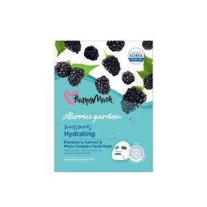 Happy Mask Berries Blackberry Face Mask 1's