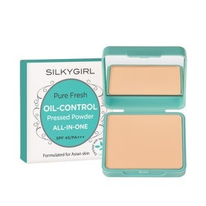 Silkygirl Pure Fresh Oil-Control Pressed Powder 01