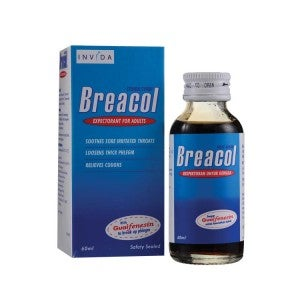 Breacol Cough Syrup for Adults 60ml