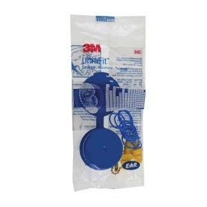 3M E.A.R Ultrafit Plugs With Cord And Carrying Case - Model:340-4002