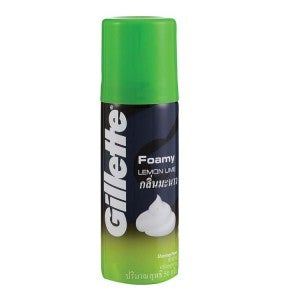Gillette Foamy Lemon Lime Shaving Foam 50g