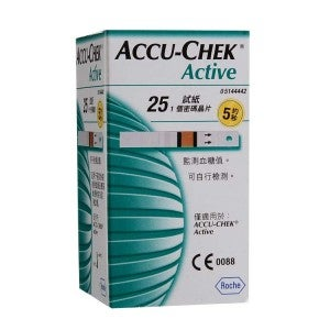 Accu-Chek Active Test Strip 25s